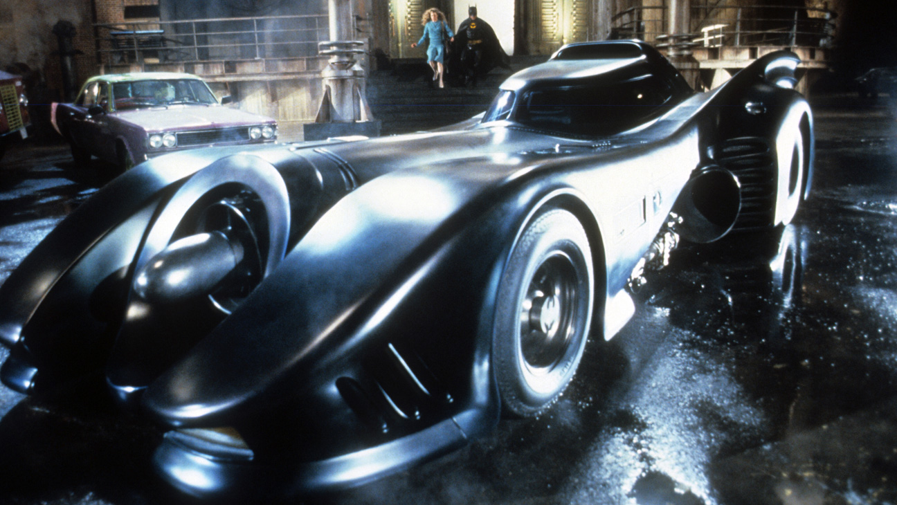 Michael Keaton's Batmobile