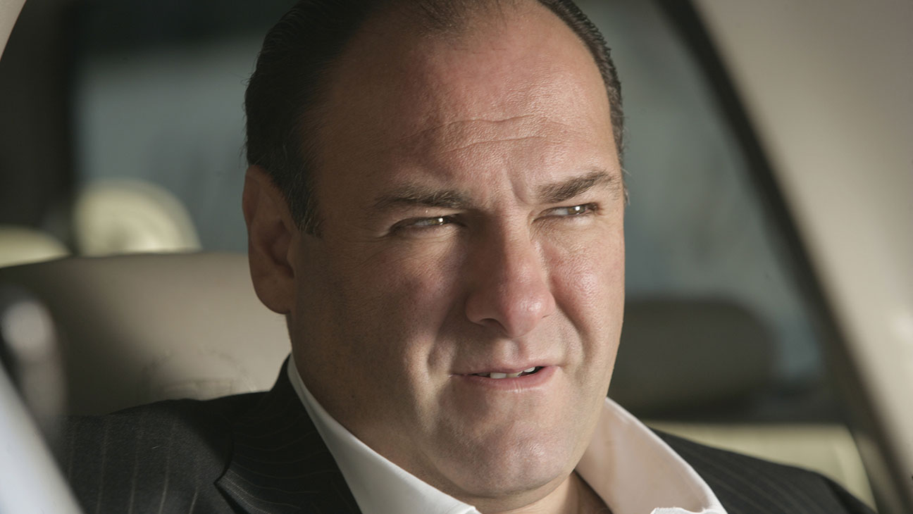 James Gandolfini on 'The Sopranos'