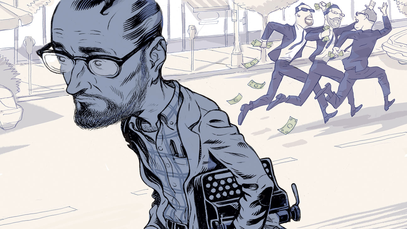 Agent Gets Money for Nothing Illo - H 2015