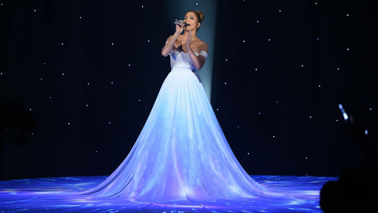 American Idol Jennifer Lopez Performing Dress - H 2015