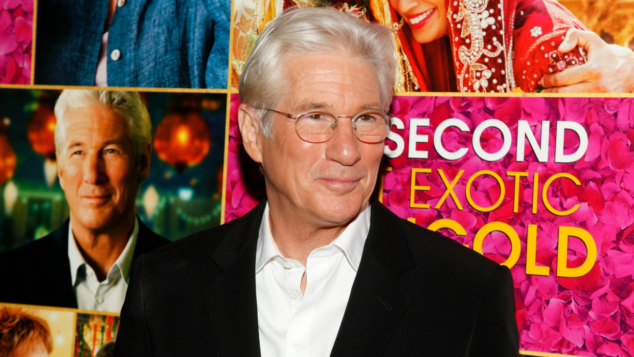 Richard Gere Second Best Exotic Marigold Hotel Premiere - H 2015