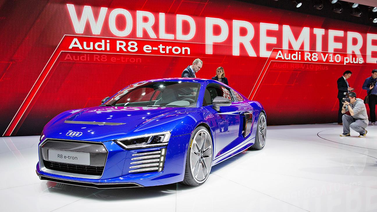 Audi R8 E-Tron - H 2015