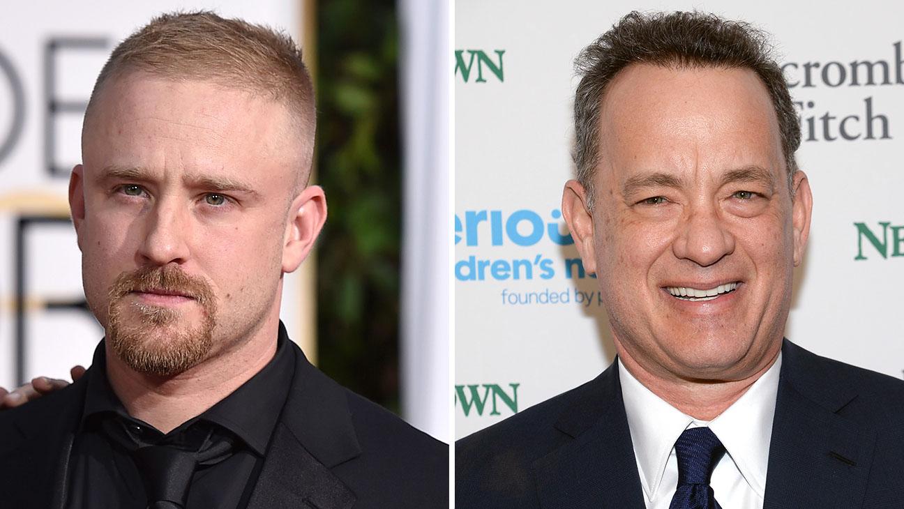 Ben Foster Tom Hanks Split - H 2015