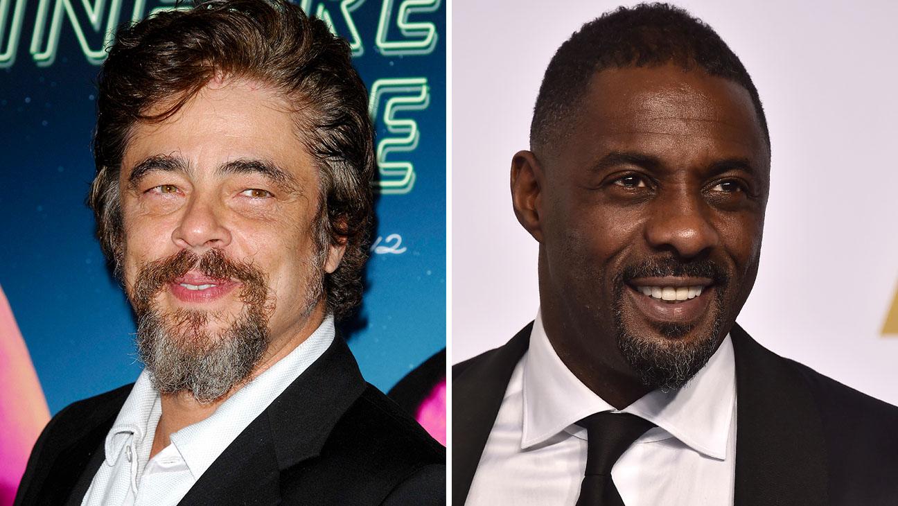 Benicio Del Toro Idris Elba Split - H 2015