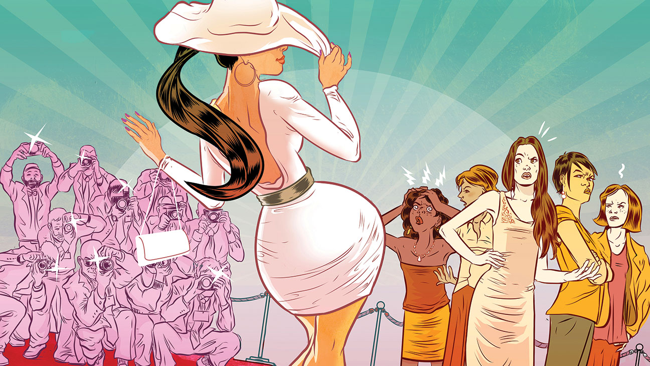 Butts Stole the Show Illo - H 2015
