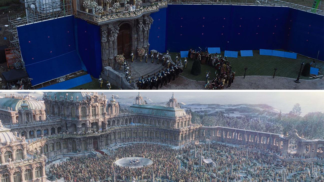 Cinderella VFX Environmental Split - H 2015