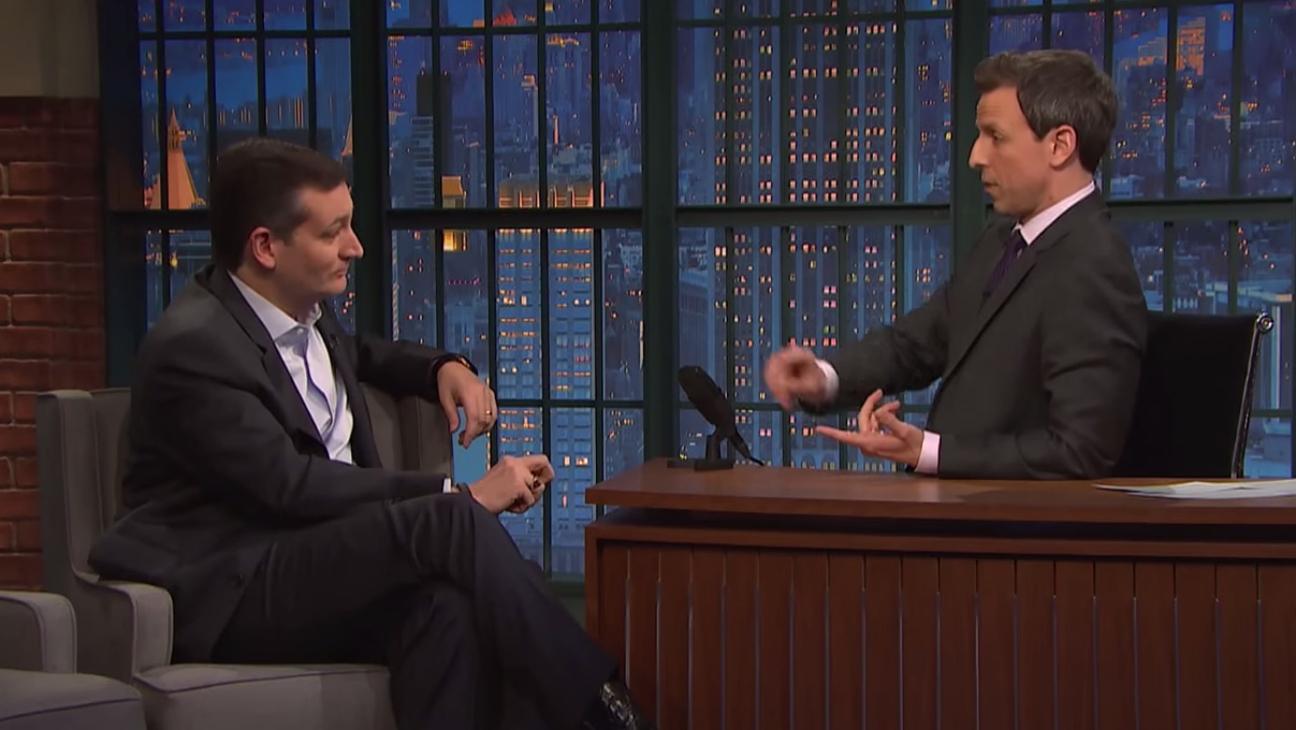 Ted Cruz on Seth Meyers - H 2015