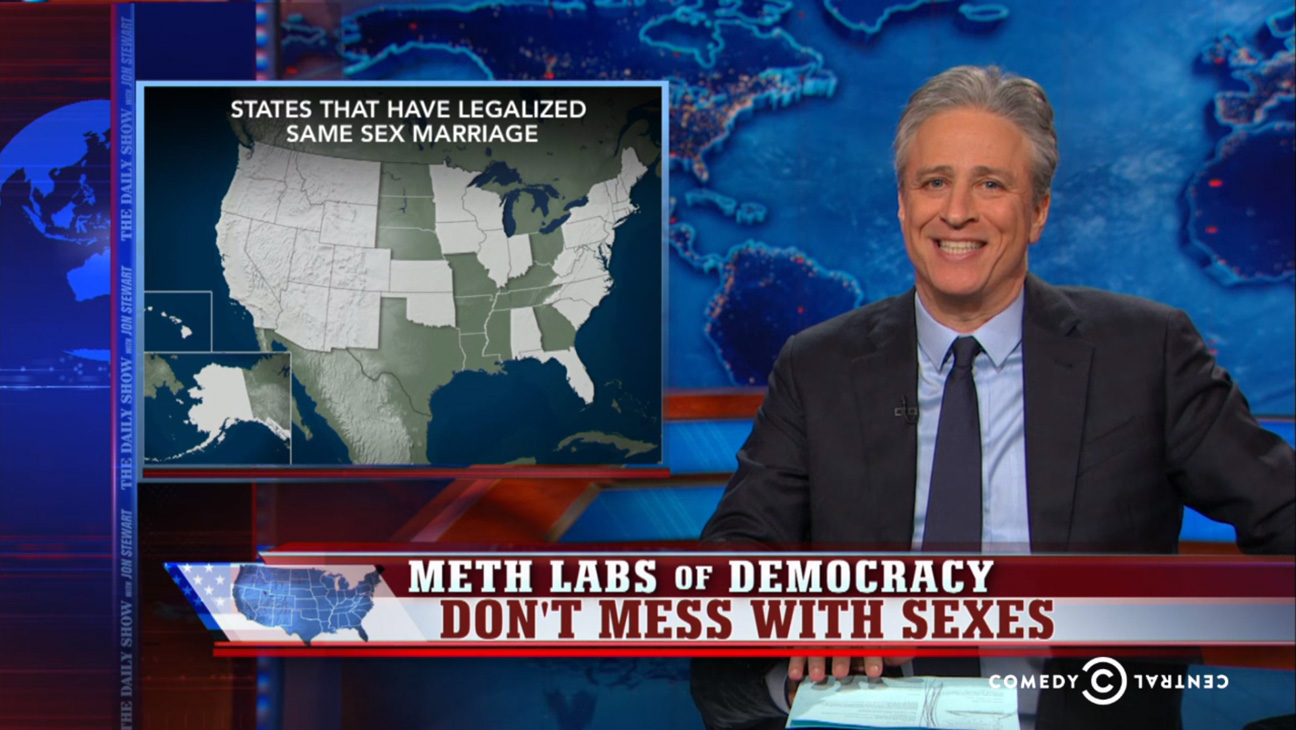 Daily Show Don't Mess With Sexes - H 2015