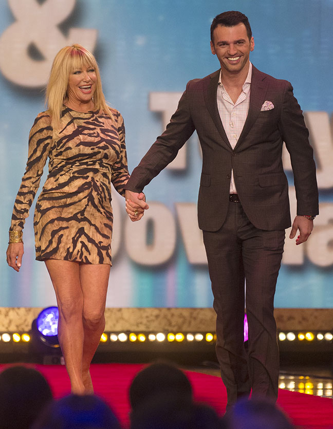Suzanne Somers Dancing With the Stars -- P