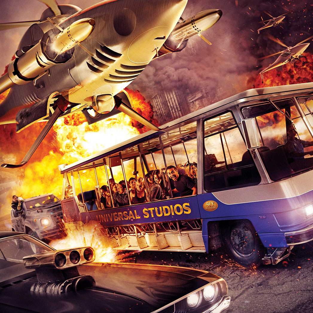 Fast and Furious Supercharged Teaser - H 2015