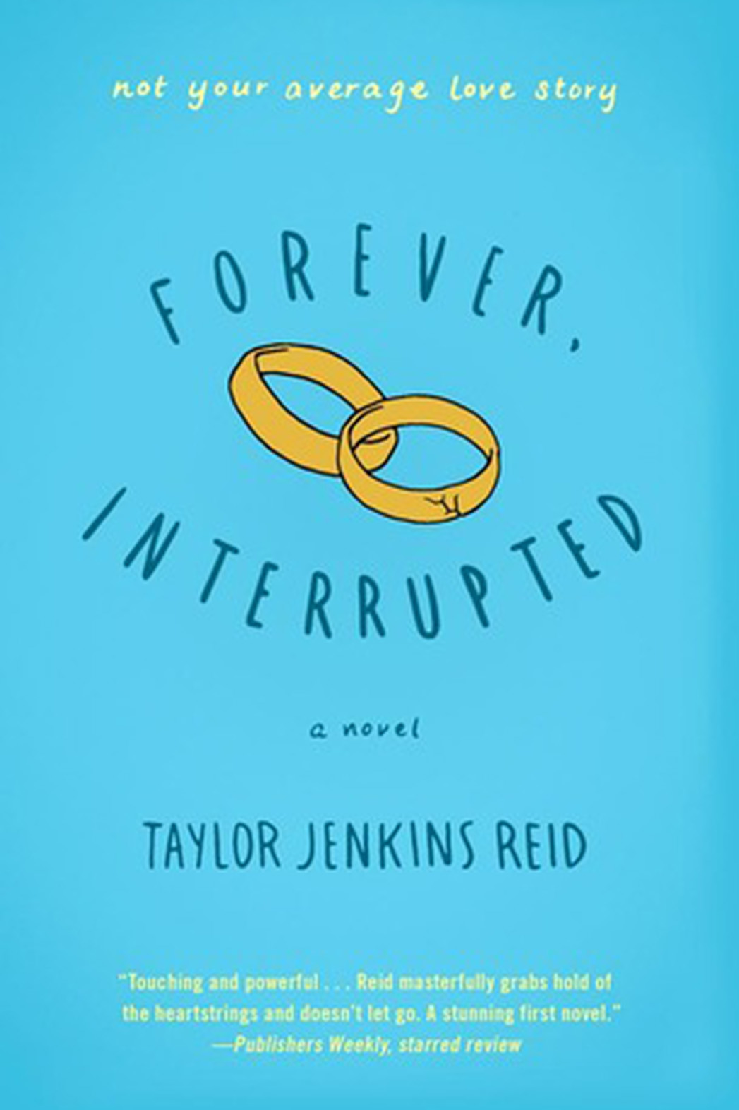 Forever Interrupted Book Cover - P 2015
