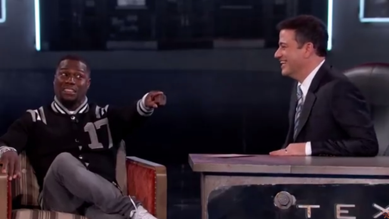 Kevin Hart on Kimmel - H 2015