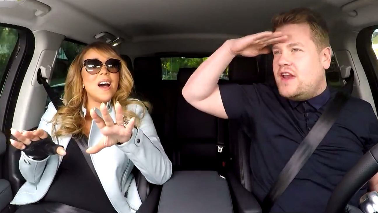 Mariah Carey James Corden Carpool Karaoke Late Late Show H 2015