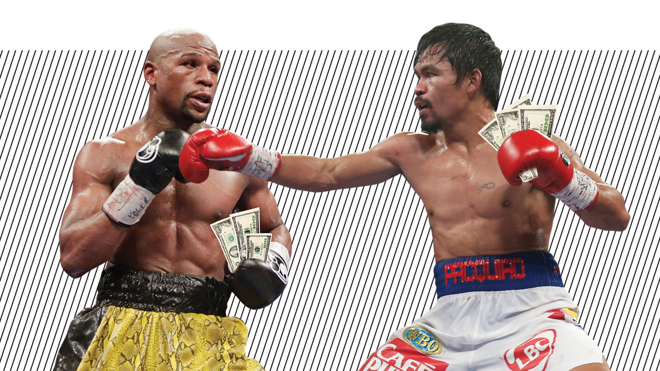 Mayweather Pacquiao Bout Comp - H 2015