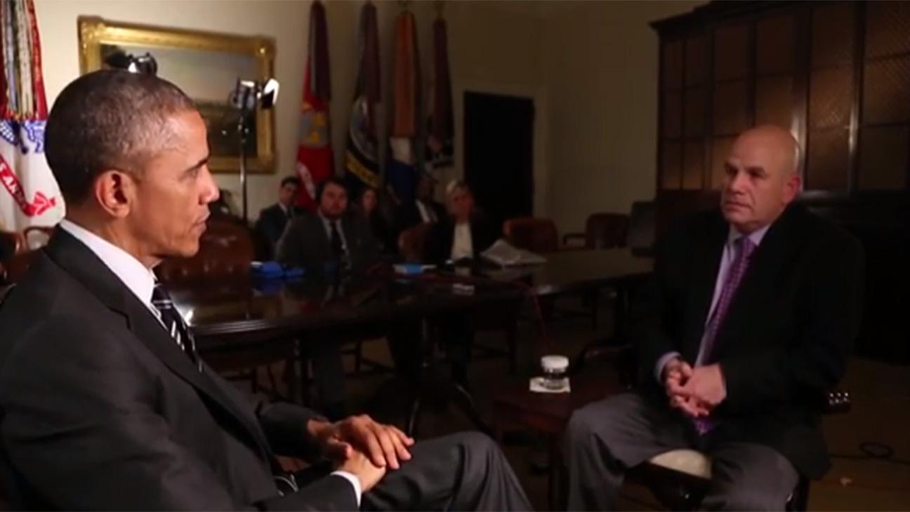 Obama and David Simon -- H