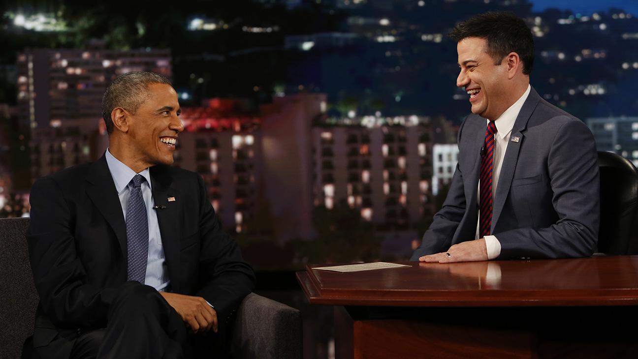 Obama Jimmy Kimmel 2015 -- H
