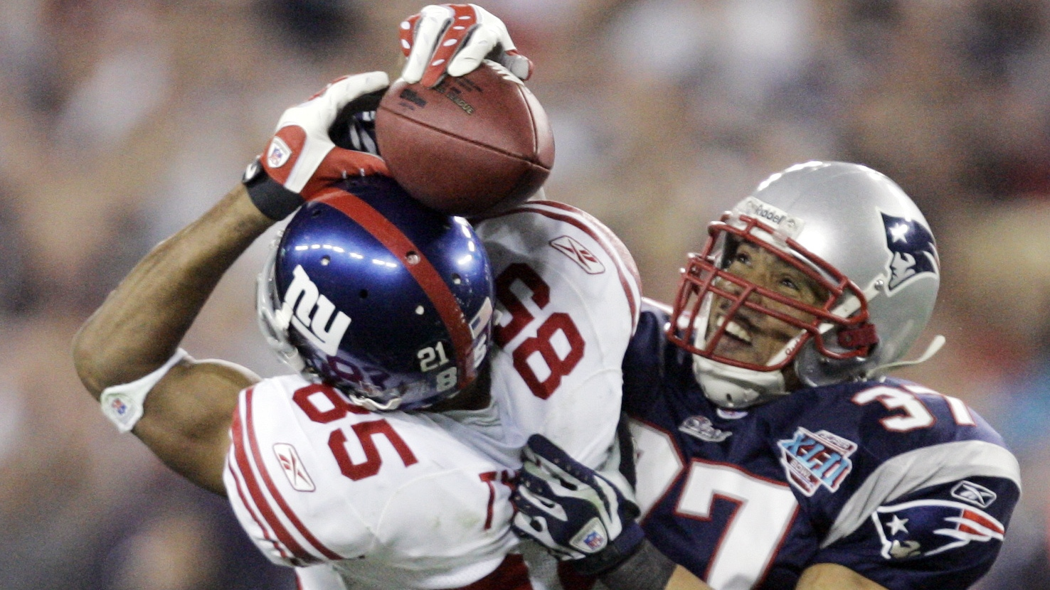 David Tyree 2008 Super Bowl Catch - H 2015