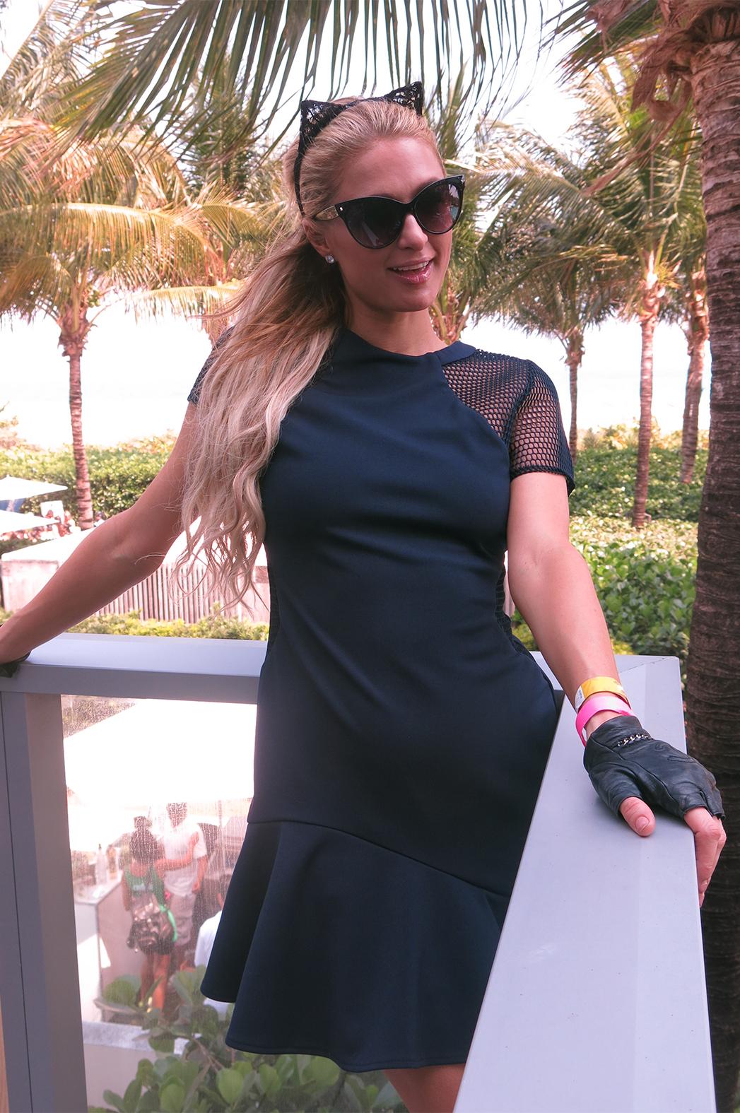 Paris Hilton miami 2015 P