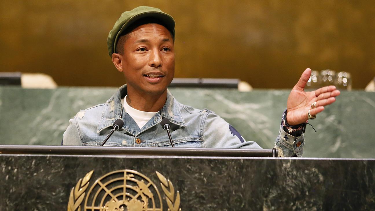 Pharrell Williams UN 2015 -- H