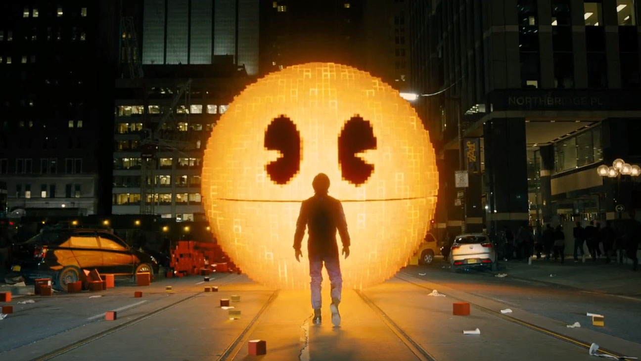 Pixels Trailer Still - H 2015