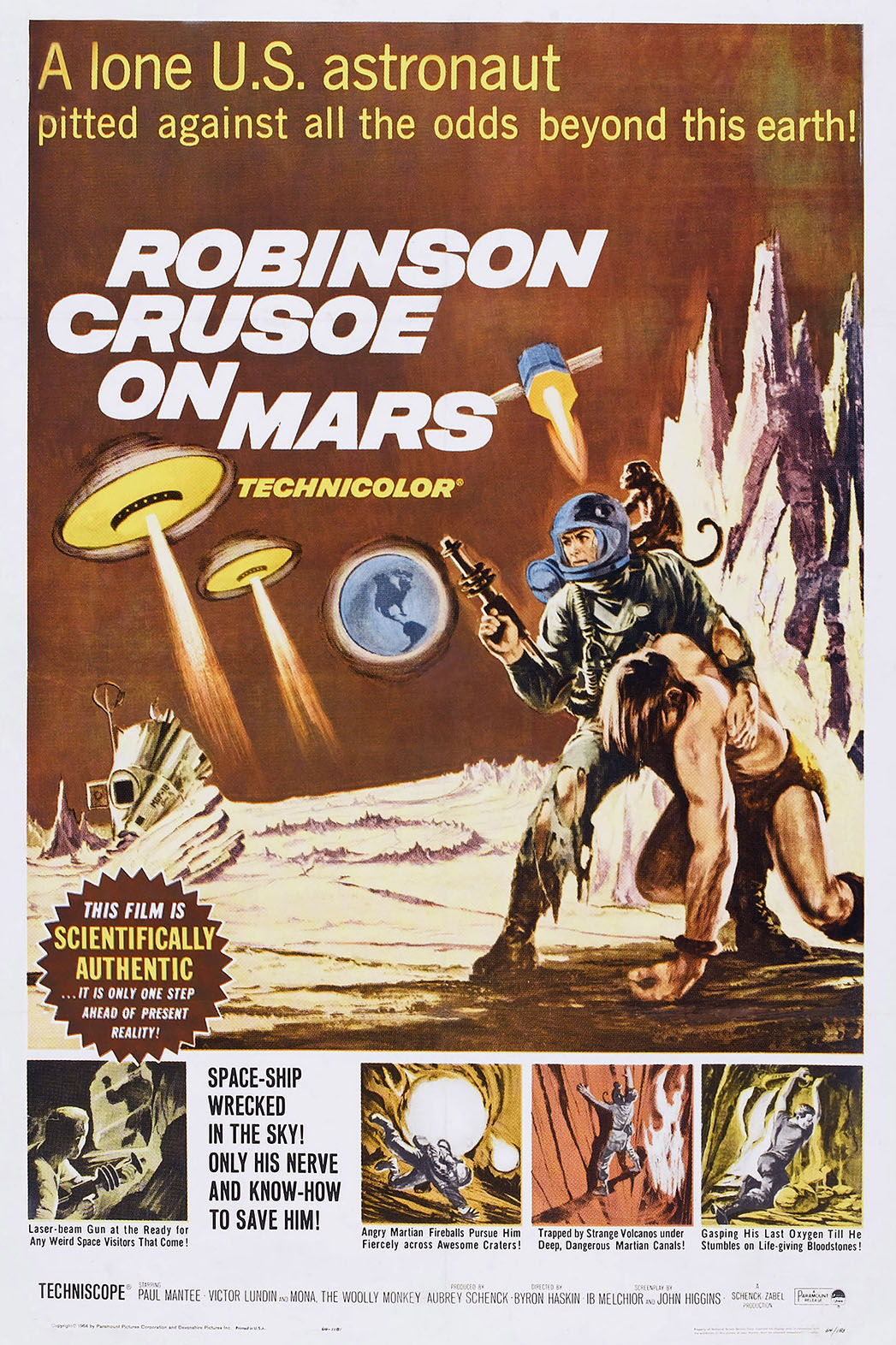 Robinson Crusoe on Mars Poster - P 2015
