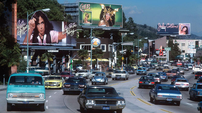 Rock & Roll Billboards of the Sunset Strip - H 2015