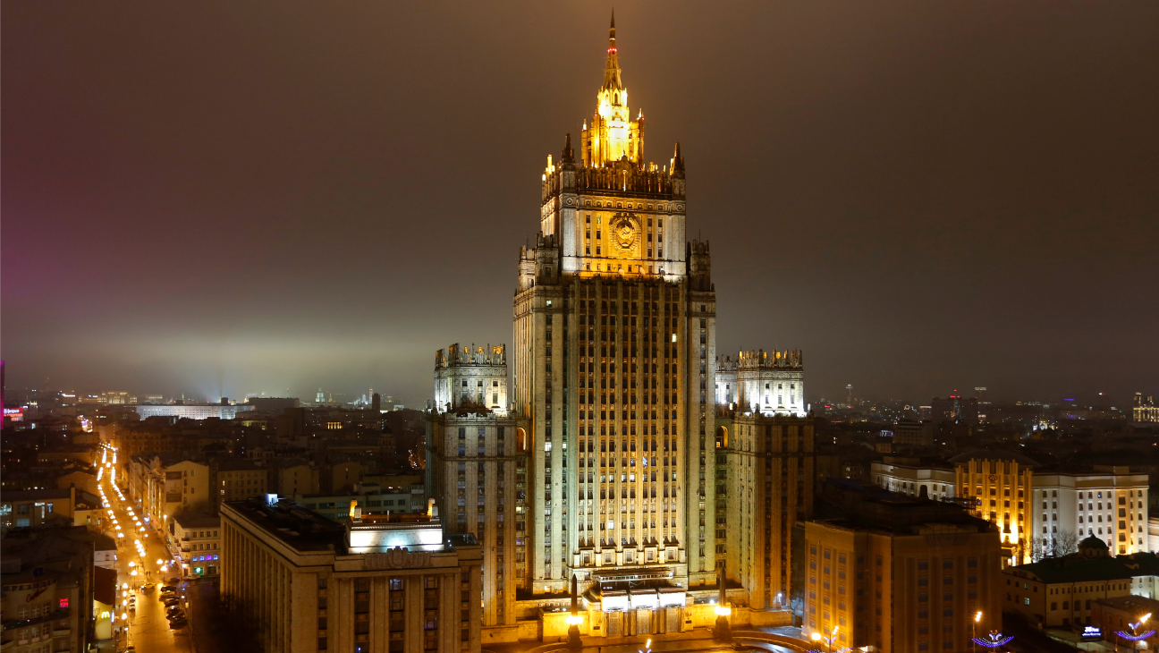 Russia Foreign Ministry Building Moscow - H - 2015