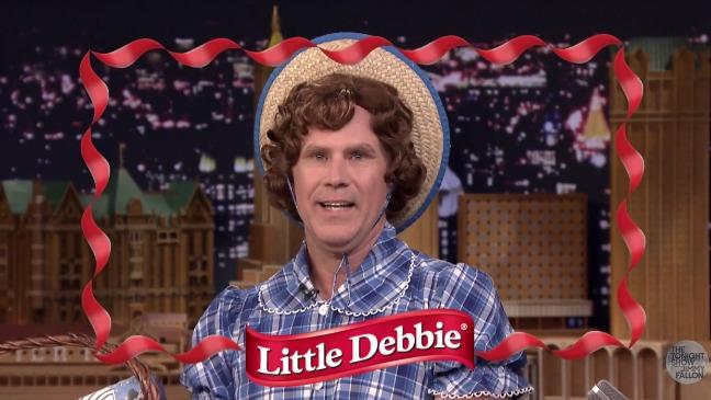 Will Ferrell Little Debbie Still - H 2015