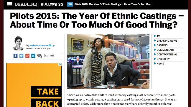 Deadline Ethnic Castings - H 2015