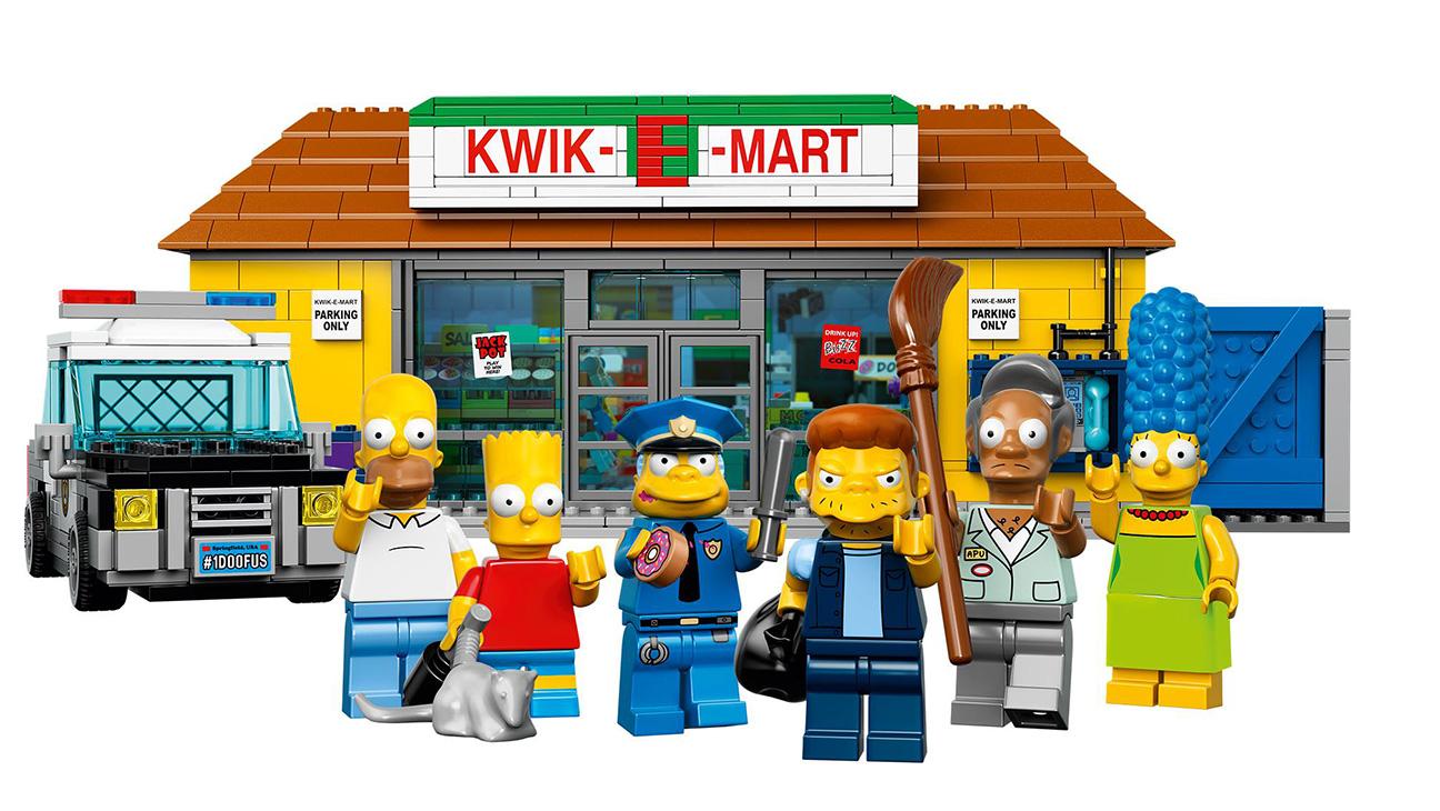 Simpsons Lego Kwik-E-Mart - H 2015