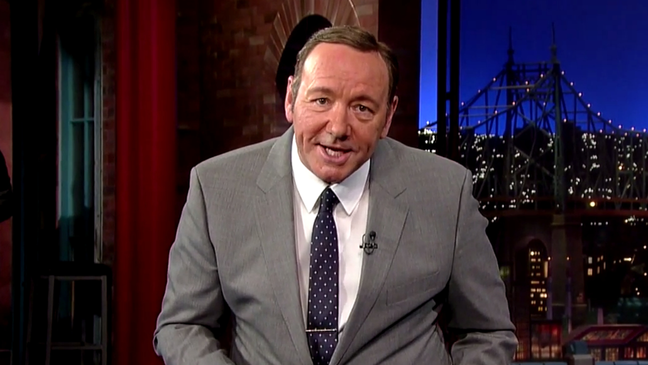 Kevin Spacey as Jack Lemmon - H 2015