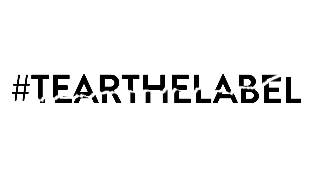 Tear the Label Logo - H 2015