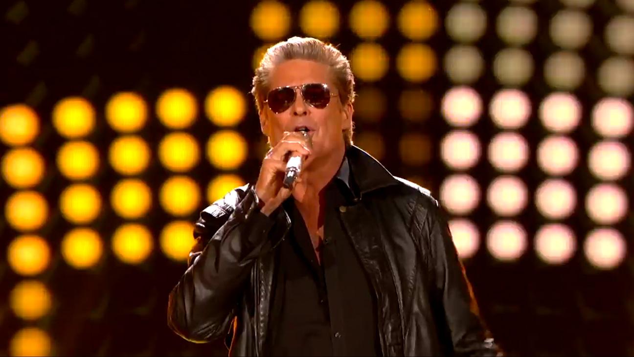 David Hasselhoff American Idol - H 2015