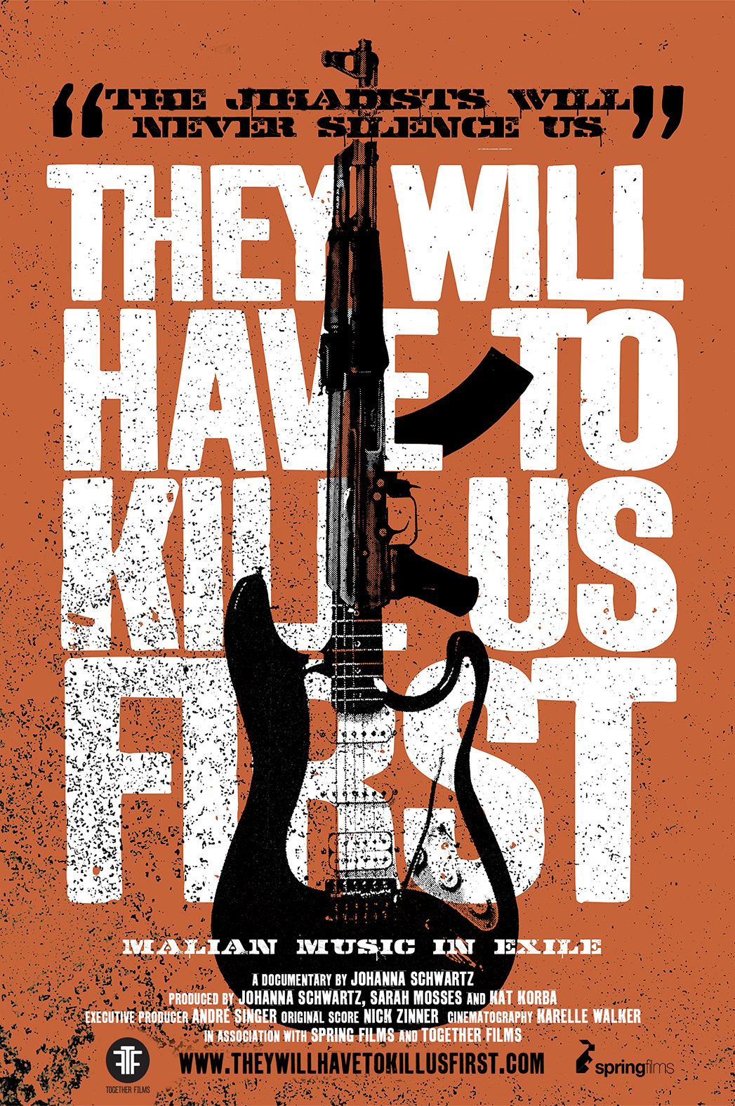 They Will Have to Kill Us First poster art P