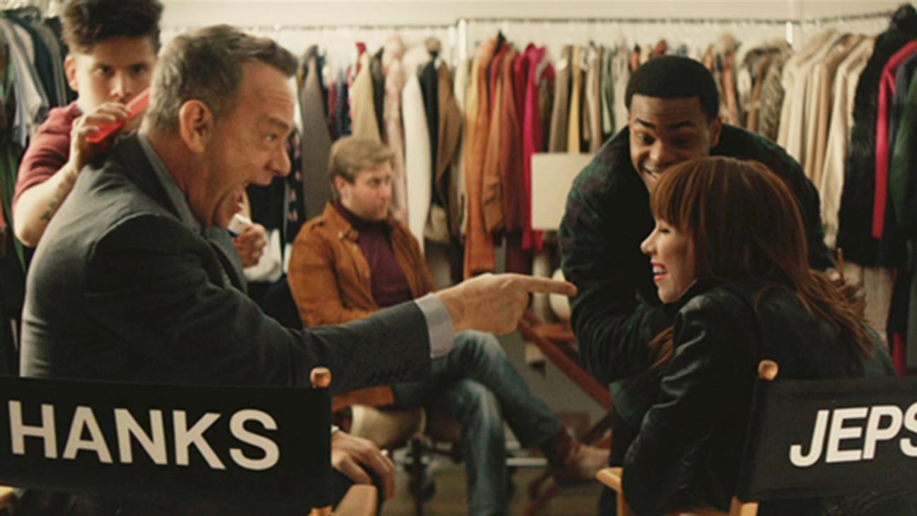 "Tom Hanks Carly Rae Jepsen ""I Really Like You"" Video H 2015"