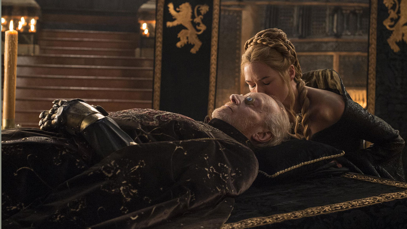 Game of Thrones S05E01 Cersei Tywin - H 2015