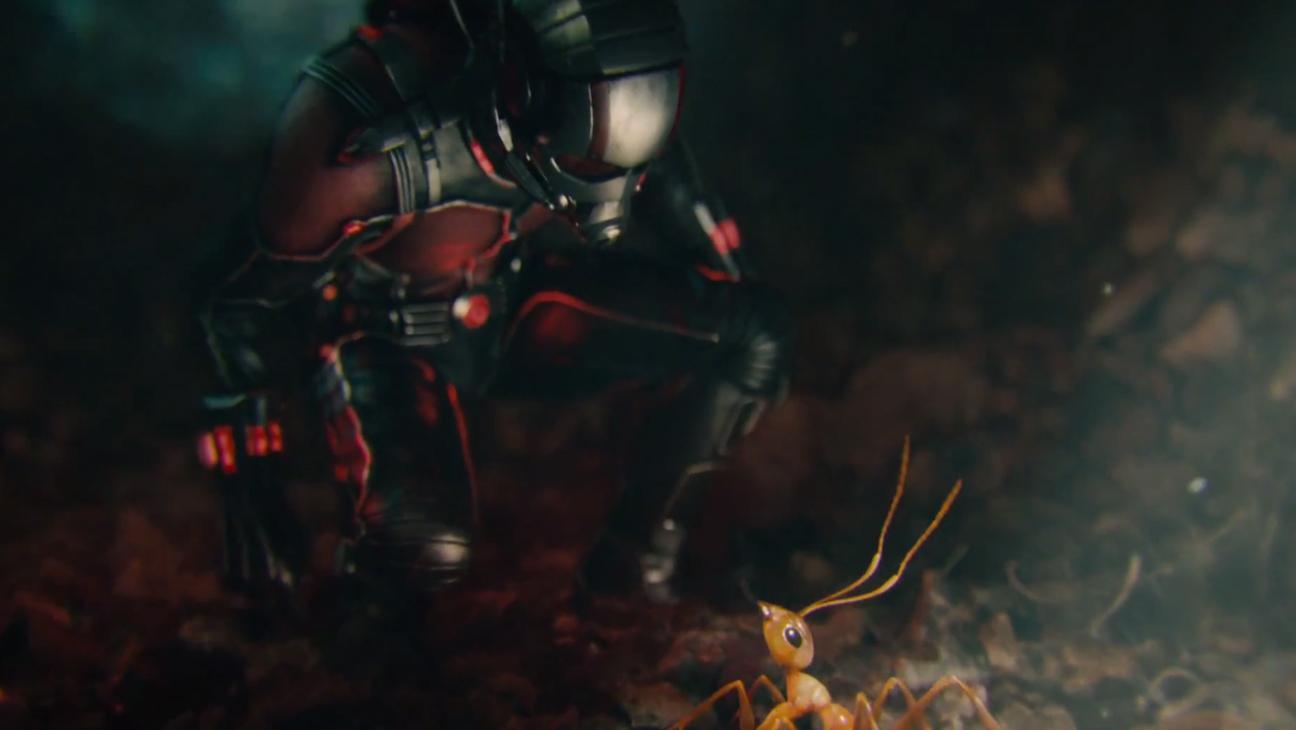 Ant-Man Trailer Screengrab Paul Rudd Ant H 2015