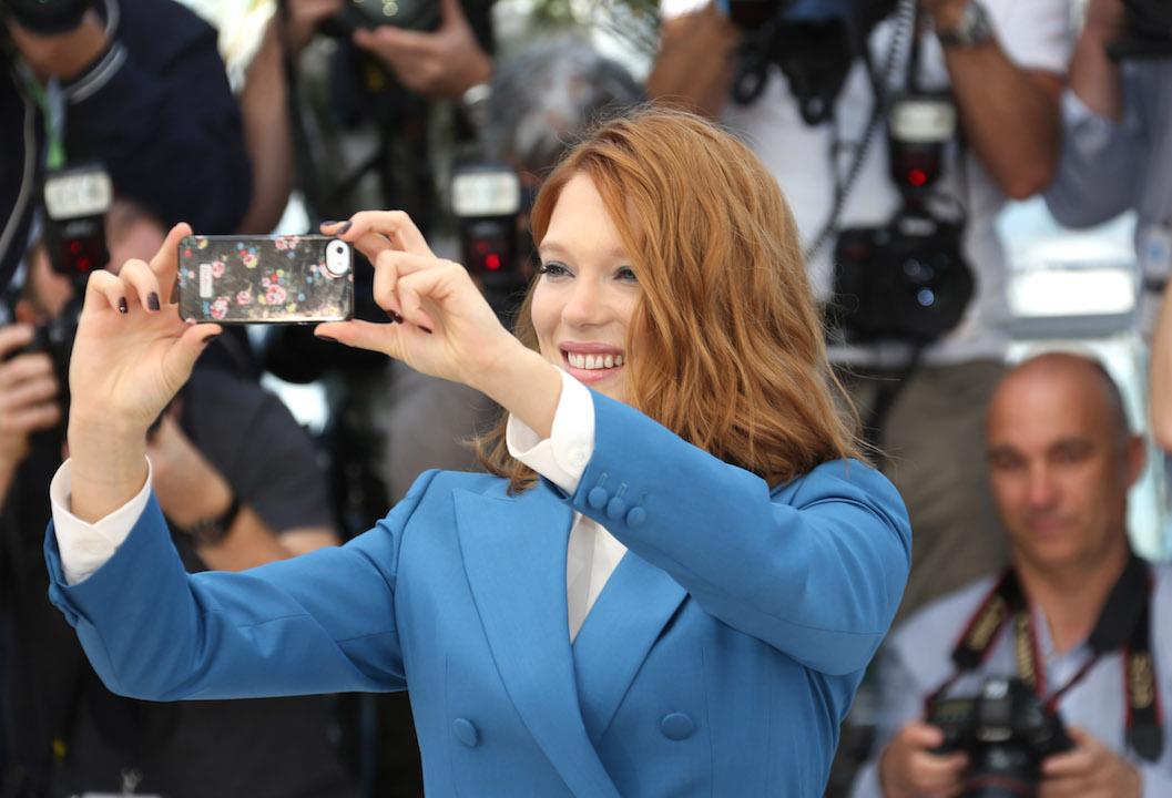 Lea Seydoux Selfie H 2015