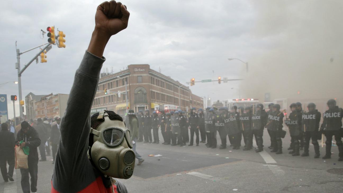 Baltimore Riots Freddie Gray - H 2015