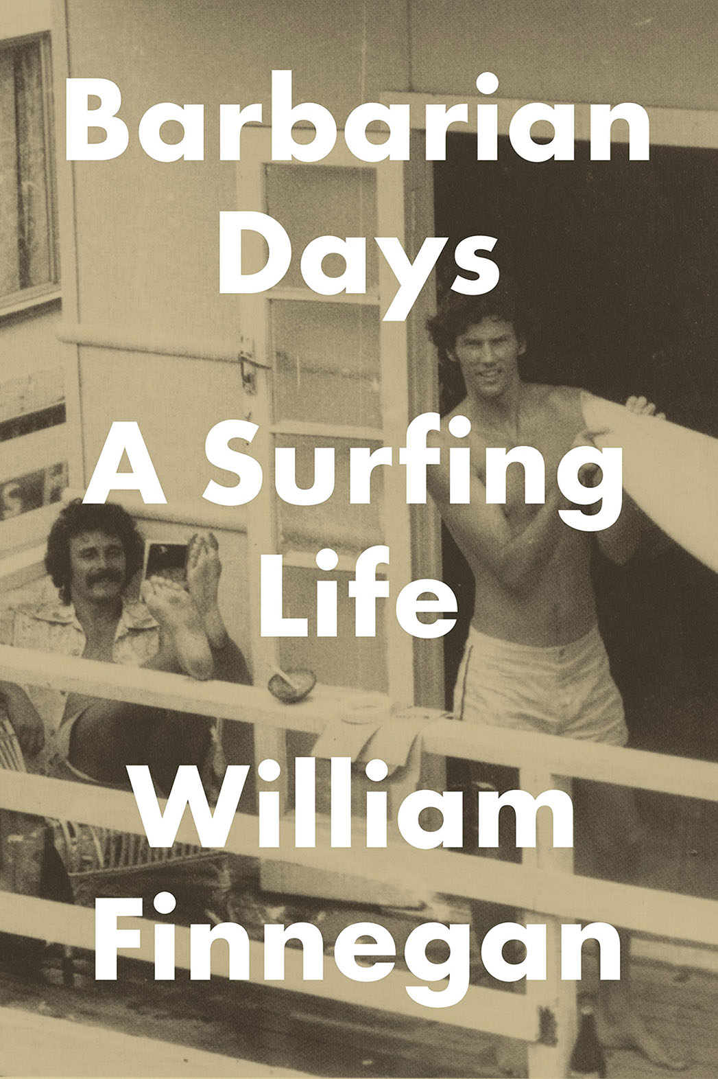 Barbarian Days A Surfing Life Cover - P 2015