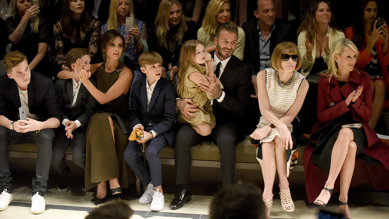 Beckham Family Burberry - H 2015