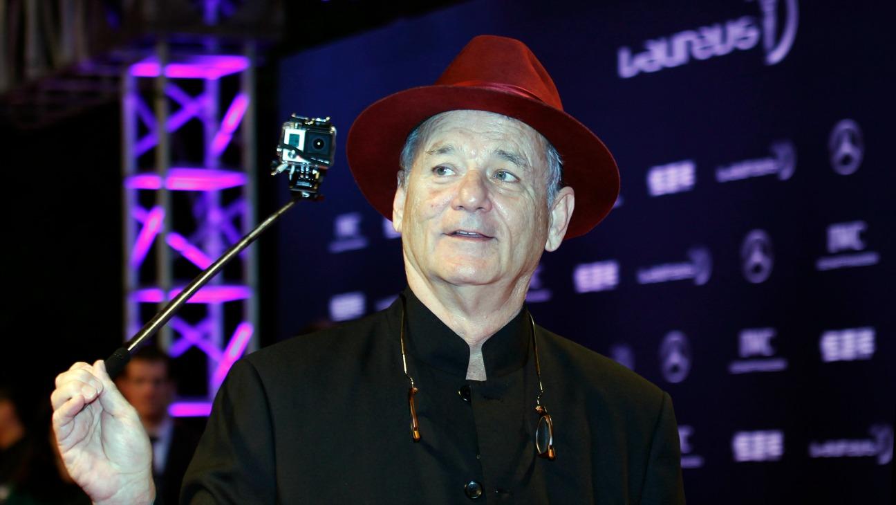 Bill Murray Laureus Sports Awards - H - 2015