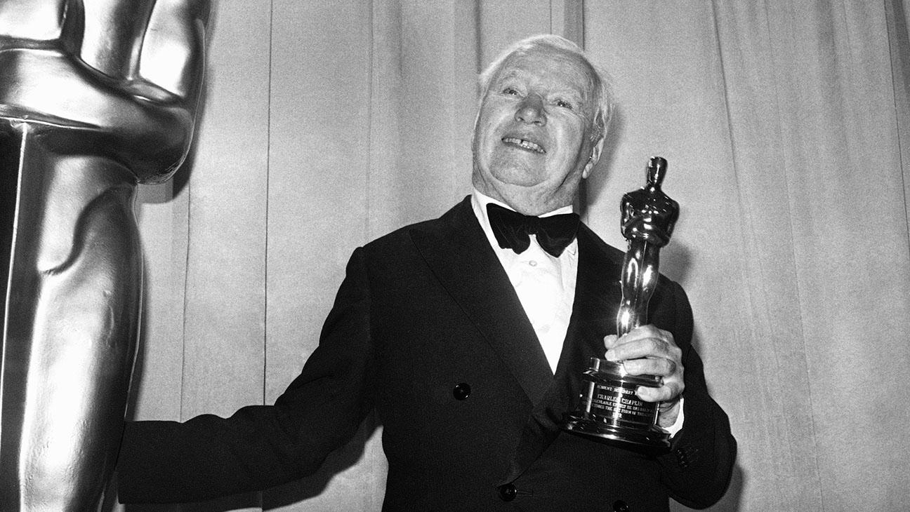 Charlie Chaplin 1972 Oscars - H 2015