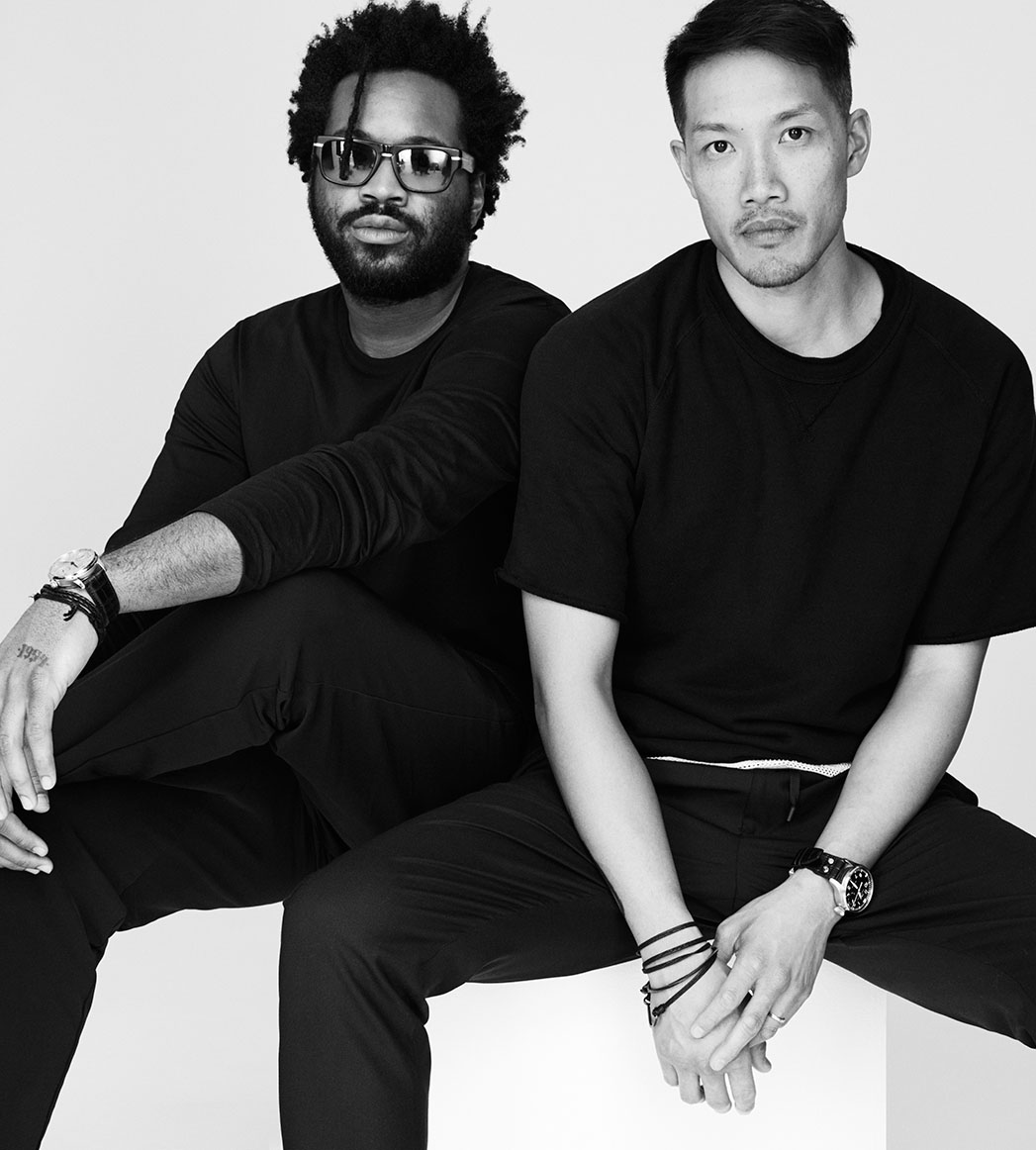 Dao-Yi Chow and Maxwell Osbourne - S 2015