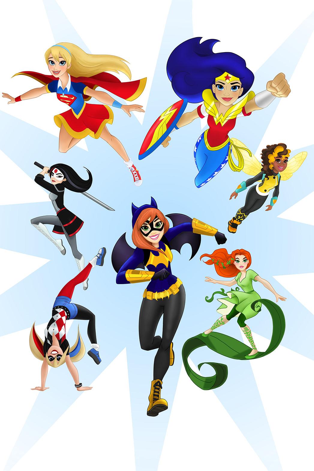 DC Super Hero Girls - P 2015