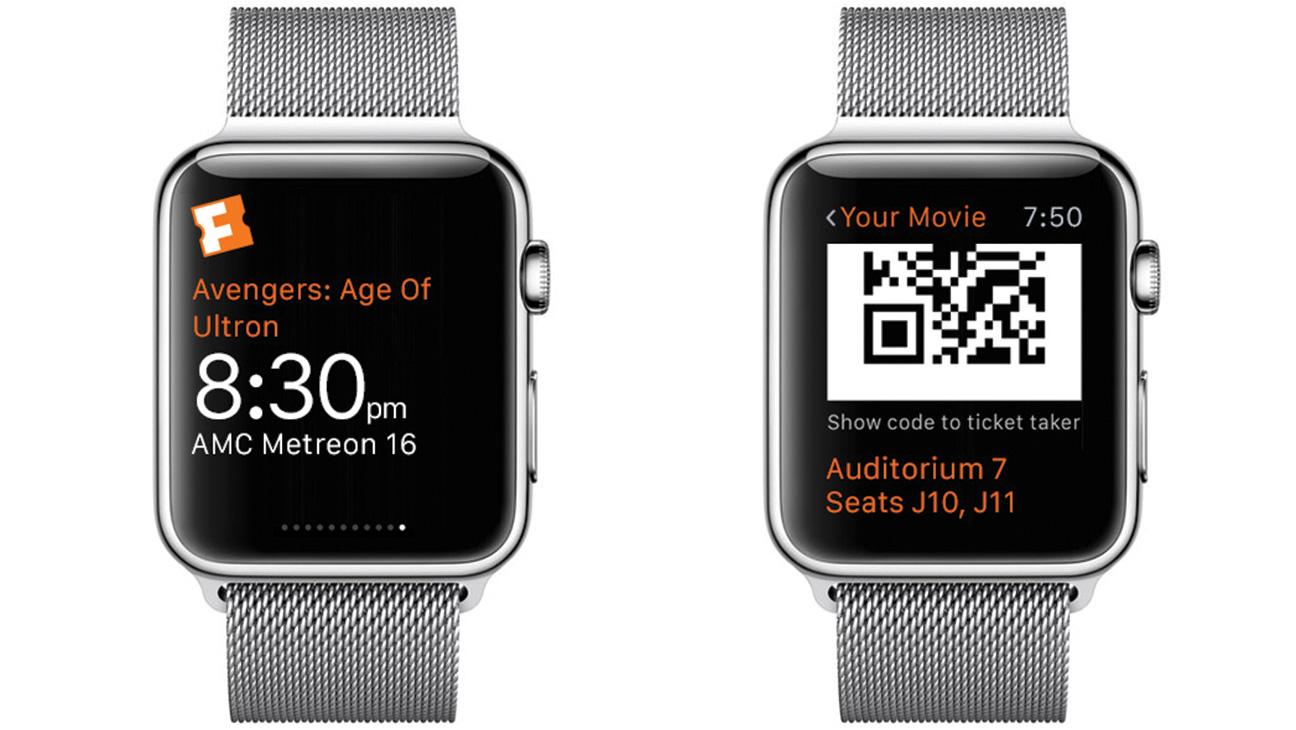 Fandango Apple Watch - H 2015