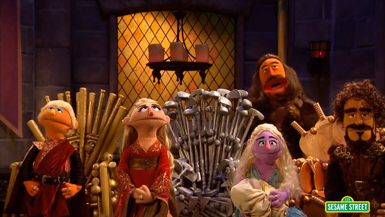 Game of Chairs Sesame Street Still - H 2015