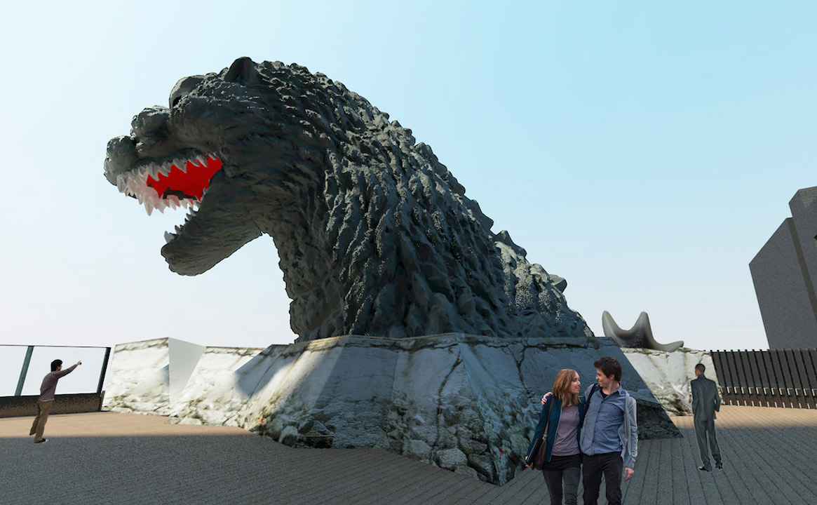 Godzilla Tokyo Ambassador H 2015