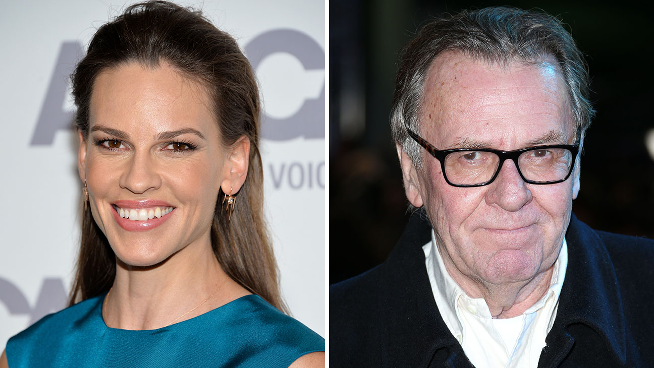 Hilary Swank Tom Wilkinson Split - H 2015