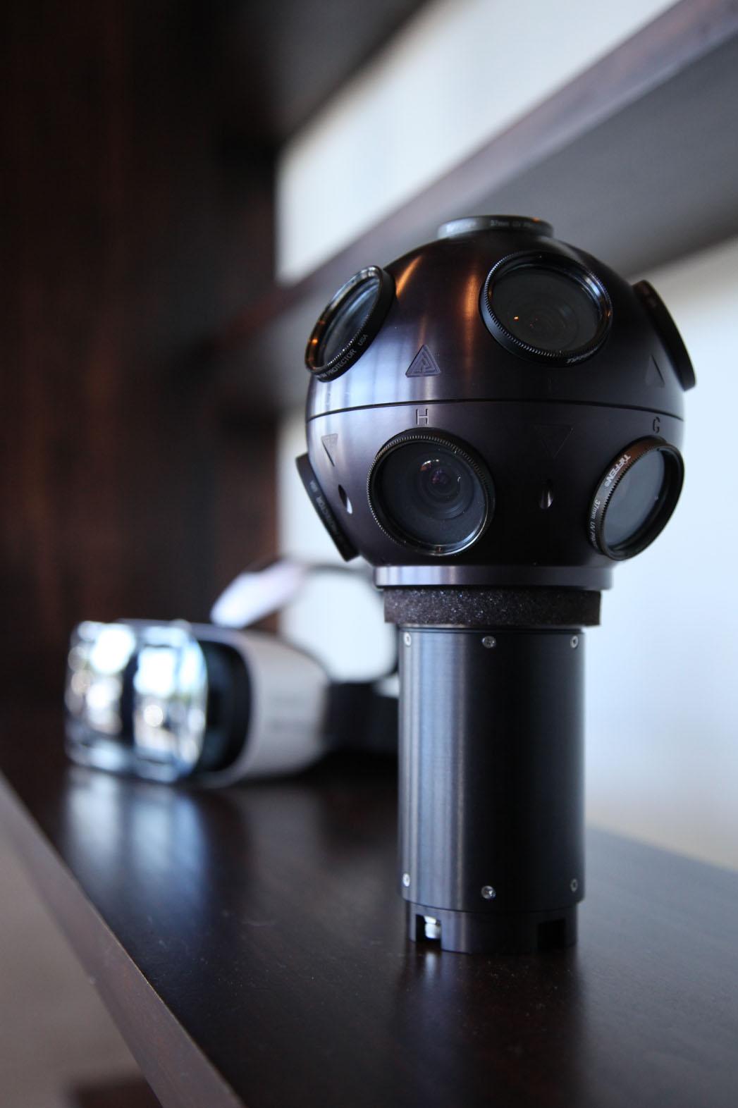 Immersive Media 360-degree camera - P 2015